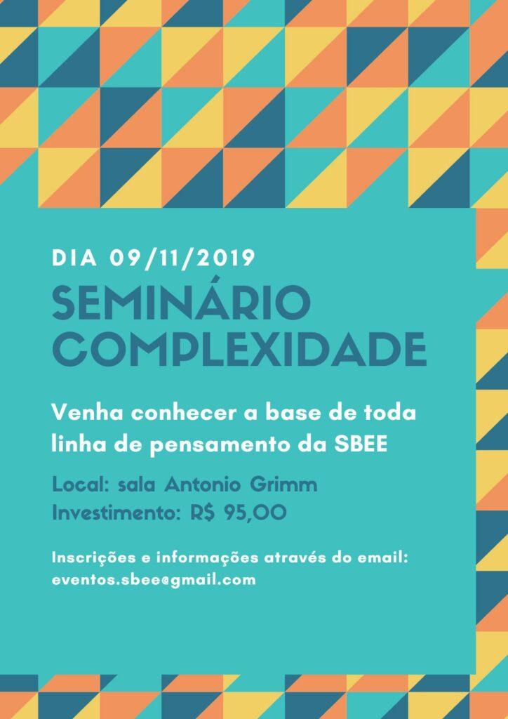 Seminário Complexidade 2019